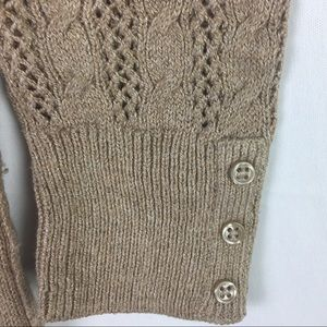 American Eagle Outfitters Sweaters - American Eagle Outfitters Camel Cable Knit Sweater